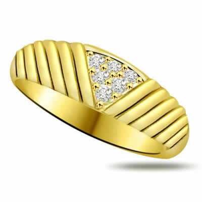 Pretty Diamond Gold rings SDR907