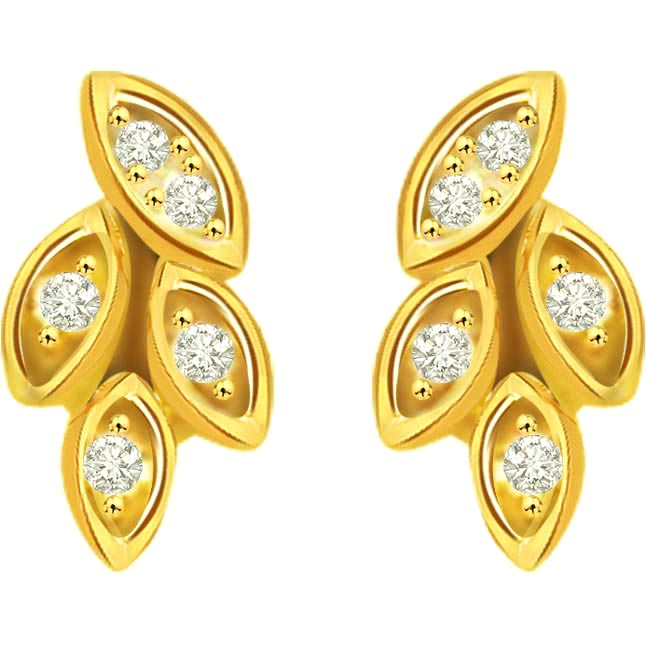 Pretty Promises Diamond Earrings -Designer Earrings