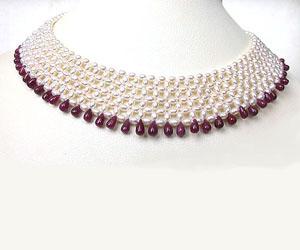 Pretty Woman's Splendor -Ruby+Pearl