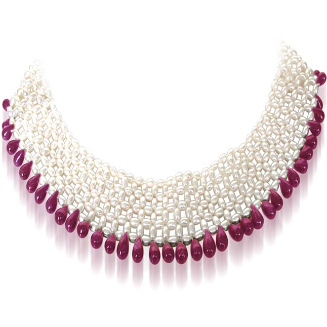 Pretty Woman's Splendor -Ruby+Pearl