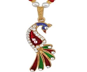 Priya -Dazzling Peacock Set