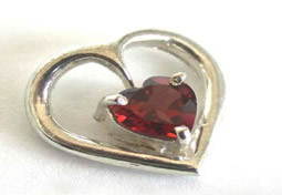 Promise a Heart Pendants -Gemstone Pendants