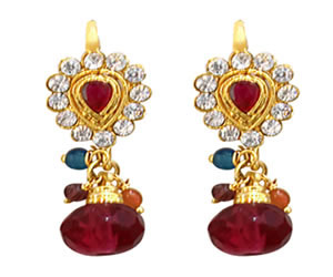 Red Fashion Jewellery Set
