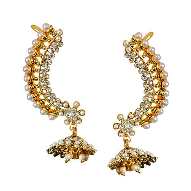 Dangling Queen Ear Cuffs