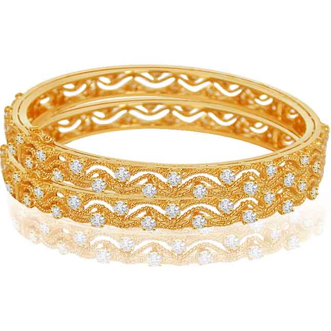 Pure love Bangle -Diamond Bangles