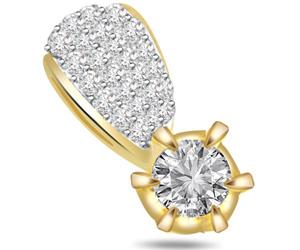 Pure Sparkle -Trendy Diamond Pendants P556 -Designer Pendants