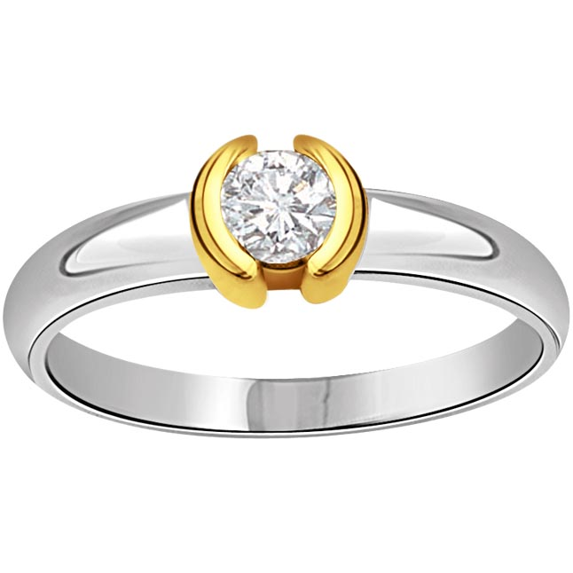 Queen of Heart Solitaire 0.25 ct Diamond rings