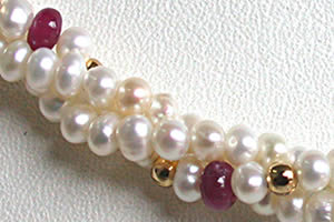 Ruby Love Pearls -Ruby+Pearl