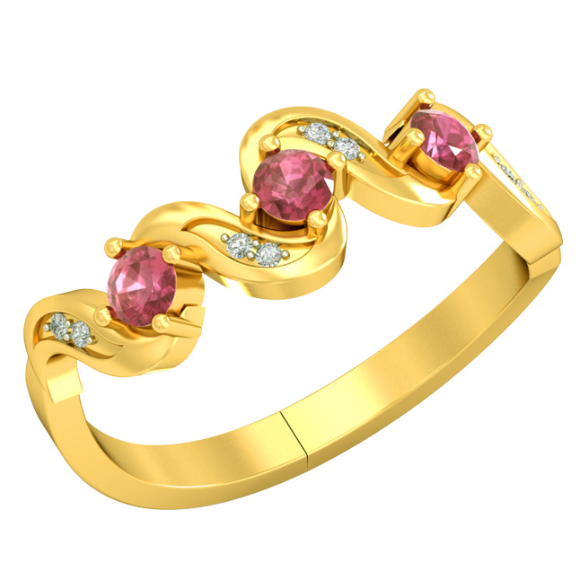 Real Diamond & Ruby rings SDR1681