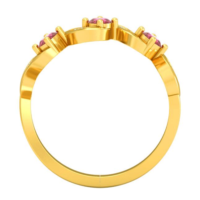 Real Diamond & Ruby rings SDR1681