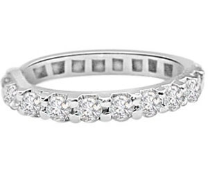 IGL CERT Diamond Ring in 14kt White Gold SDR90-1.68 cts