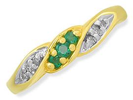 Romantic Rendezvous -Diamond & Emerald