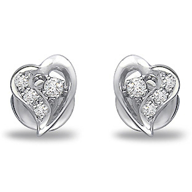 Romantic Rays Elegant Diamond Earrings -Designer Earrings