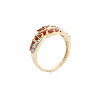 Rouge -Radiance -diamond rings  Surat Diamond Jewelry