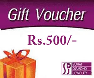 Rs.500 / -Gift Vouchers. -Gift Certificates