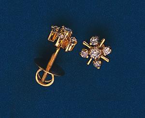 Diamond Forever Earrings -Designer Earrings