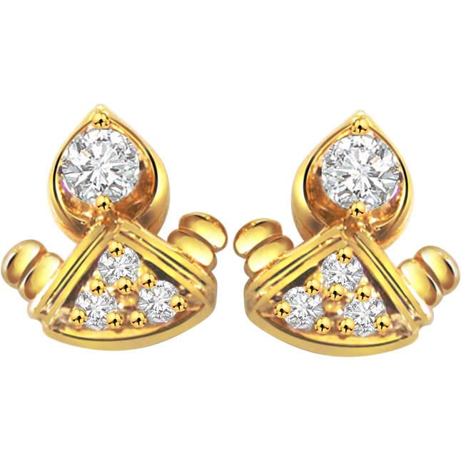 Darling Doll Diamond Earrings -Designer Earrings