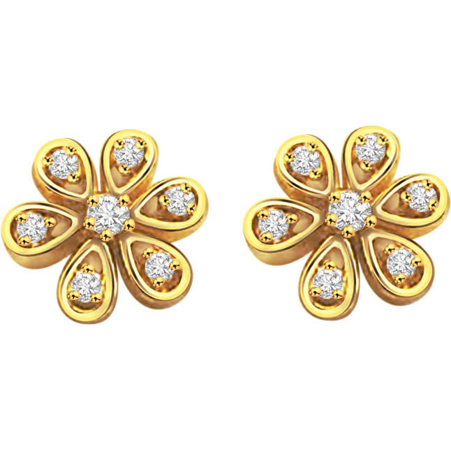 Wish you were here Diamond Earrings -Kudajodi