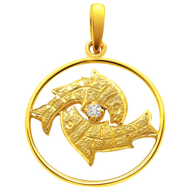 Pisces Pendants -Zodiac Signs