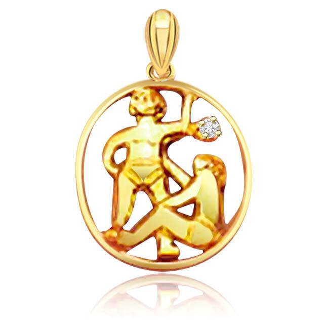 Gemini Pendants -Zodiac Signs