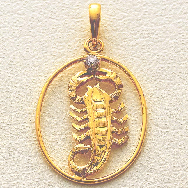 Smart Scorpio -Pendants -Zodiac Signs