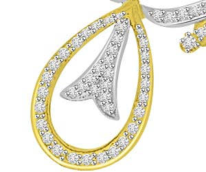Sacred Fire 0.49ct Diamond Necklace Pendants