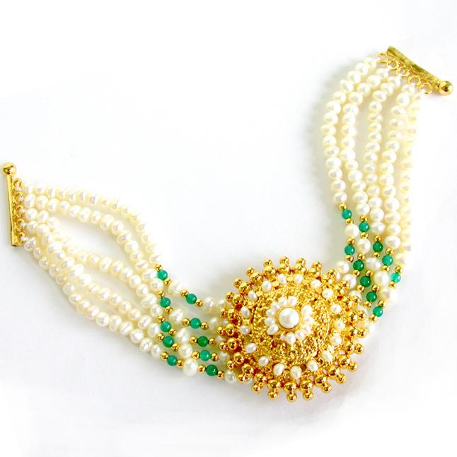 Angelic Beauty SB18 -Pearl Bracelet