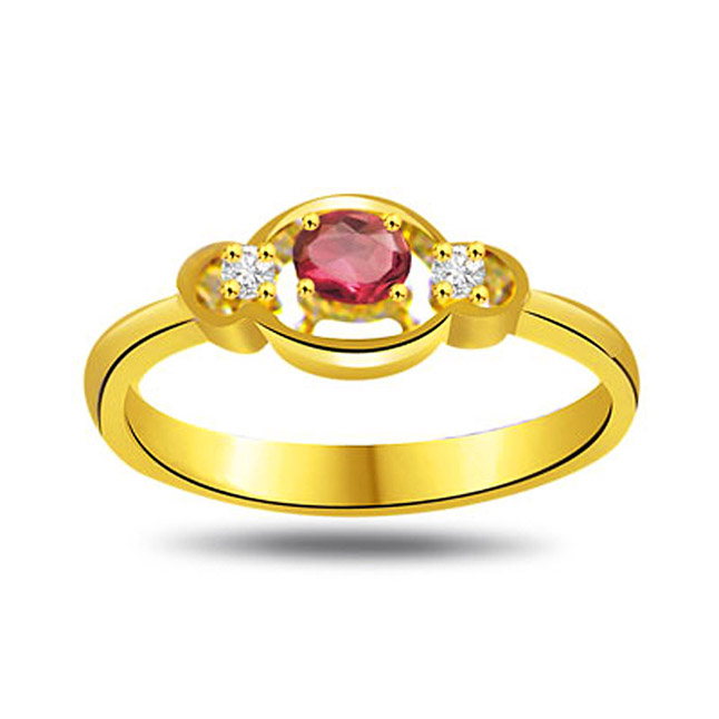 Happy In Heaven Diamond & Ruby Ruby in 18kt Gold