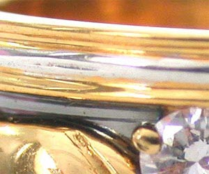 Live Forever Diamond rings in 18kt Gold -Couture Collection