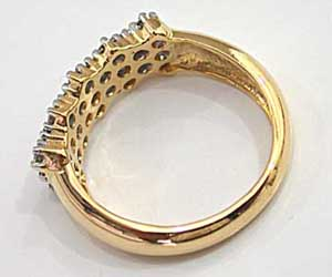 She Is Radiance Diamond rings in 18kt Gold -White Yellow Gold rings