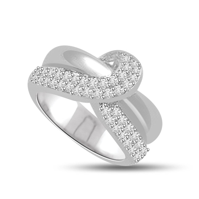 0.30cts Diamond white Gold rings SDR1149 -Designer