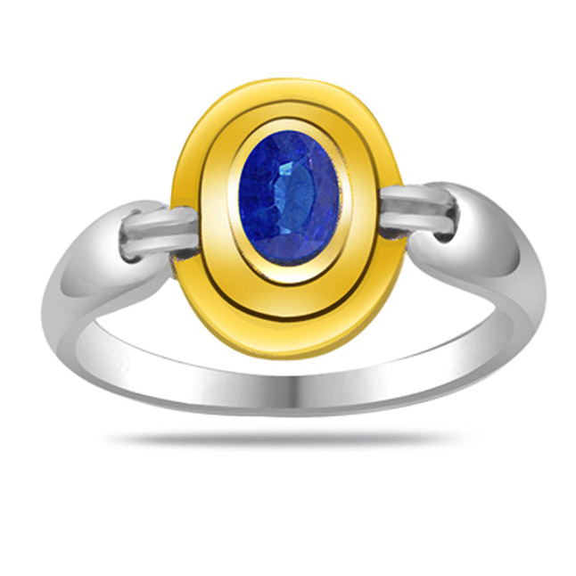 Oval Sapphire Gold rings SDR1177