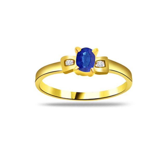 Diamond & Sapphire rings SDR1184