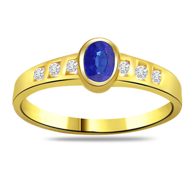 Diamond & Sapphire rings SDR1185