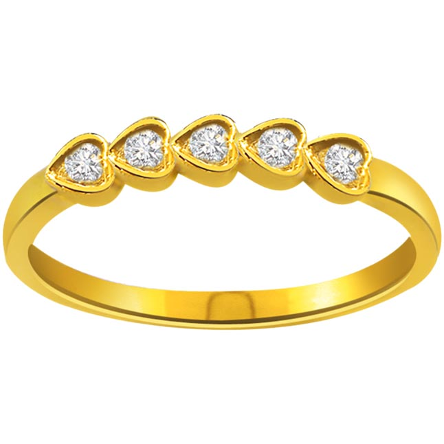 0.13ct Diamond Heart Shape rings SDR1194
