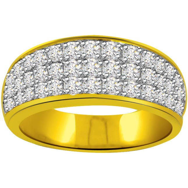 0.60ct Diamond 18kt Gold rings SDR1196