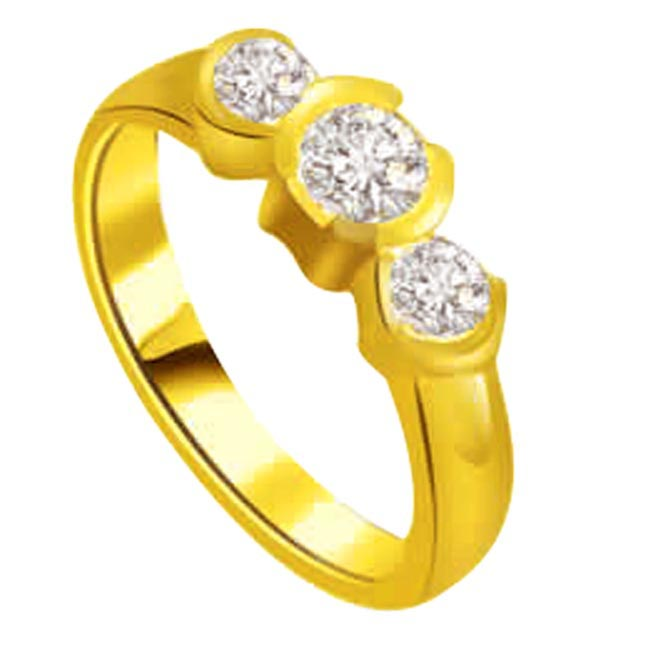 0.60ct Diamond Gold rings SDR1202 -3 Diamond rings