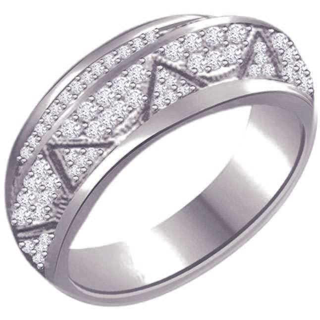 Fine Diamond 14kt Gold rings SDR1227 -Pave Collection
