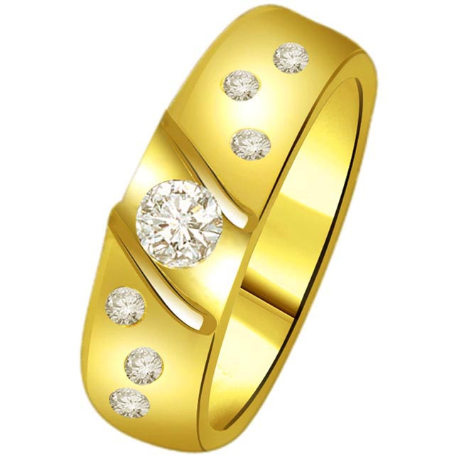 Classic Diamond 18kt Gold rings SDR1235