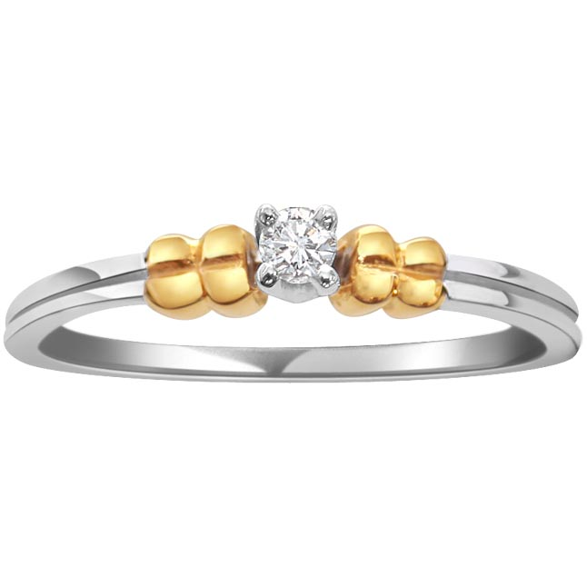 Dual Plated Diamond rings