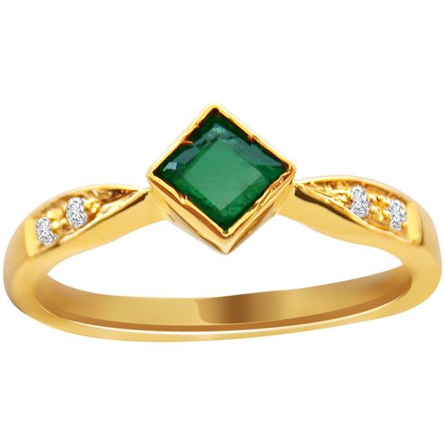 Go Green -Diamond & Emerald