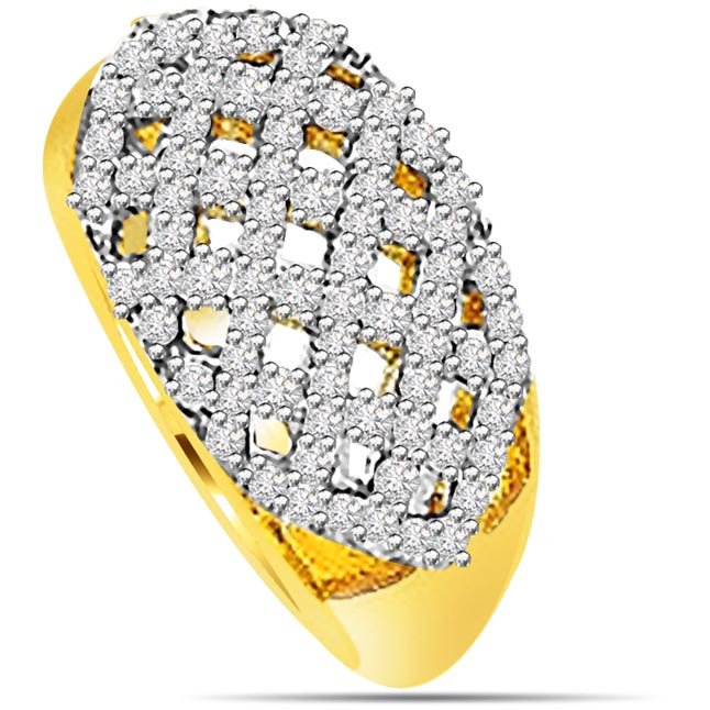 0.74 ct Diamond rings -Couture Collection