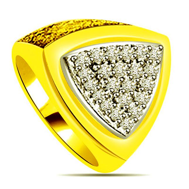 0.44 cts Diamond Designer rings