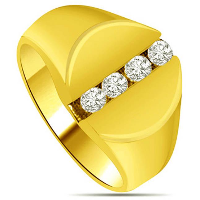 0.16 cts Diamond Designer rings
