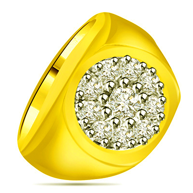 0.23 cts Diamond Designer rings