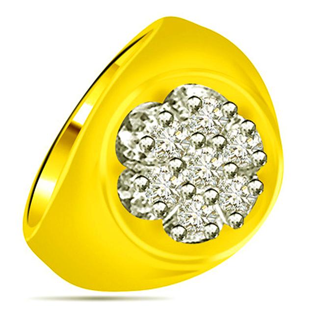 0.28cts Diamond Designer rings