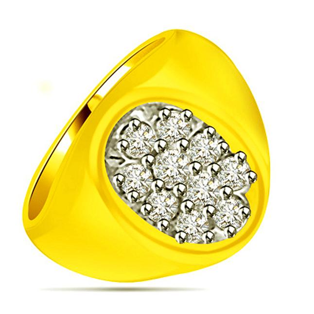 0.50 cts Designer Diamond rings