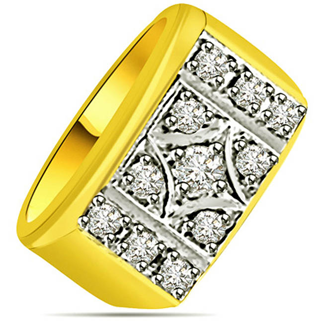 0.33 cts Diamond Designer rings