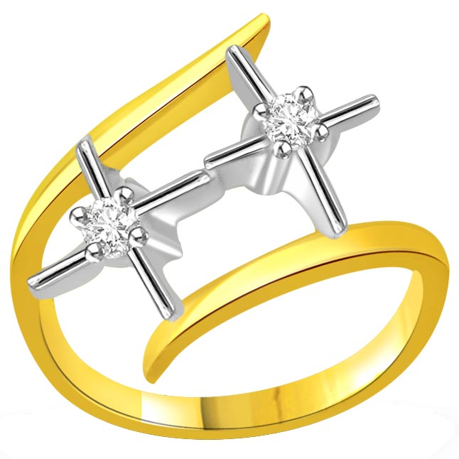 0.08 ct Designer Diamond rings