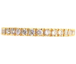 Divine Eternity Diamond B -Yellow Gold Eternity rings